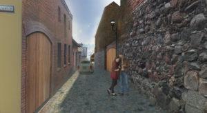 wizualizacja-przebudowy-ul-barlickiego-wraz-z-renowacja-sredniowiecznych-murow-obronnych